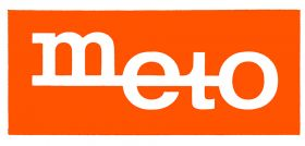 Meto Logo Vor 1990 Orange