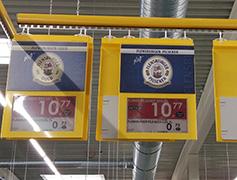 Befestigungen Elektronische Preisschilder