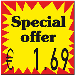 Etikett Gb Special Offer