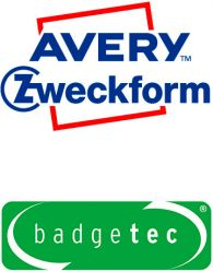 Avery Zweckform Badgetec Logos