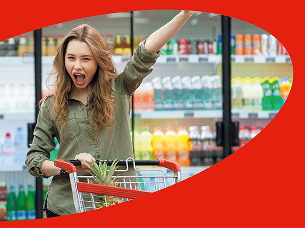 Women supermarket